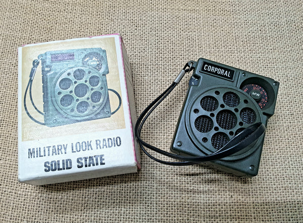 Vintage Radio (Army Style) Mint in Box