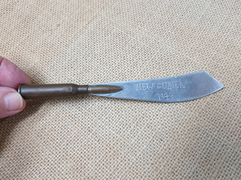 WW2 1943 Trench Art Butter Knife