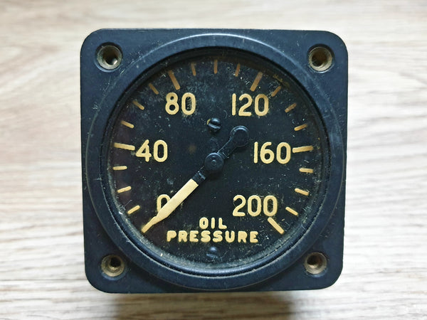 Aircraft Oil Pressure Gauge USA Catalina