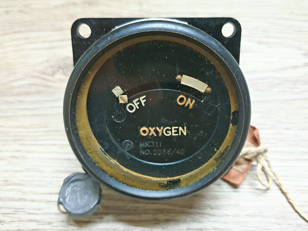 Aircraft Oxygen Gauge 1940 (AM)