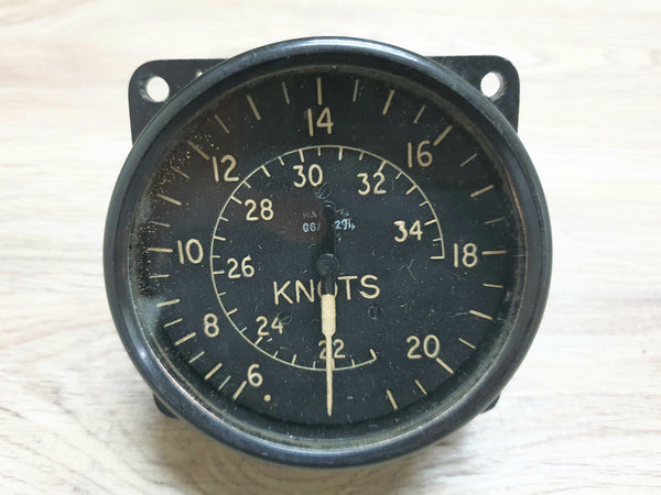Aircraft Speed Gauge (AM) Knots