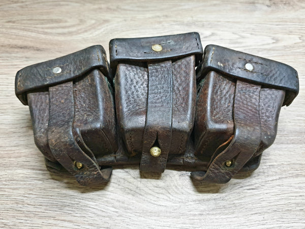 German Ammo Pouches WWI-WWII