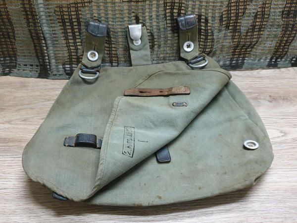 German Bread Bag marked JR127 complete
