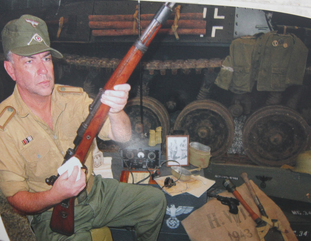 WW2 German Mauser K98 Rifle - (Promotional Photo Only from the Collection of Brett Lee)