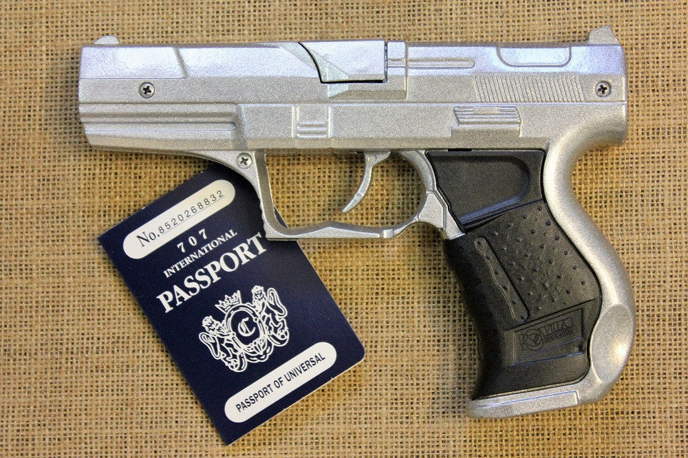 Walther P99 Silver 8 Shot - Toy Gun with FREE Holster