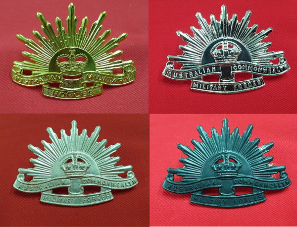 Rising Sun Badges