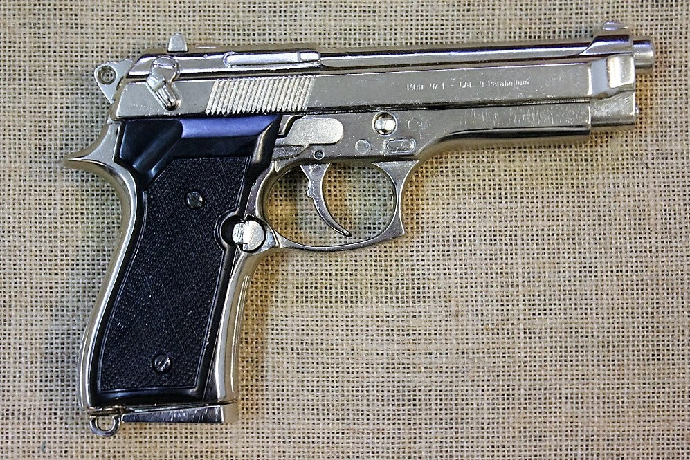 Beretta M92 9mm (Chrome)