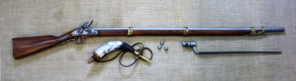 Brown Bess Musket (with bayonet)  - PHONE FOR COURIER QUOTE