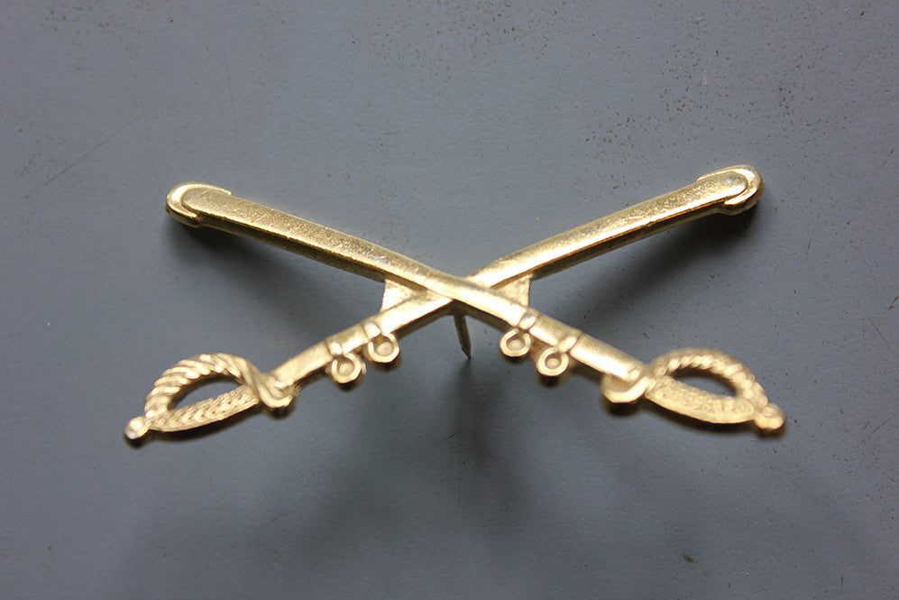 Calvary Cross Sword Cap Badge