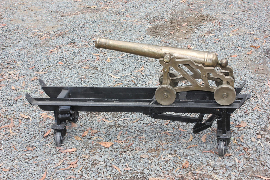 Black Powder Brass Canon
