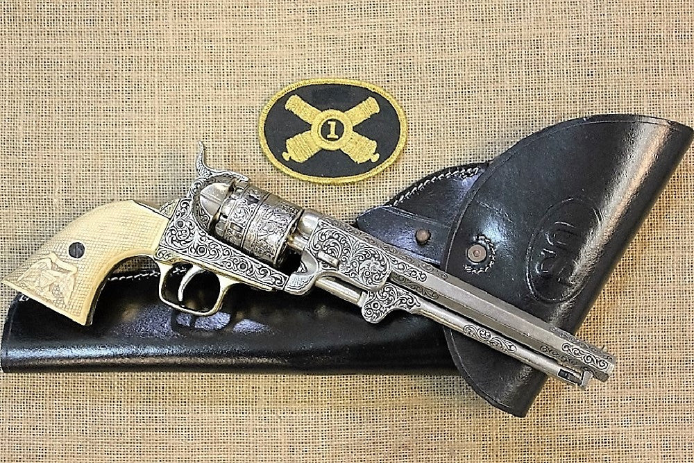 Engraved Colt Navy