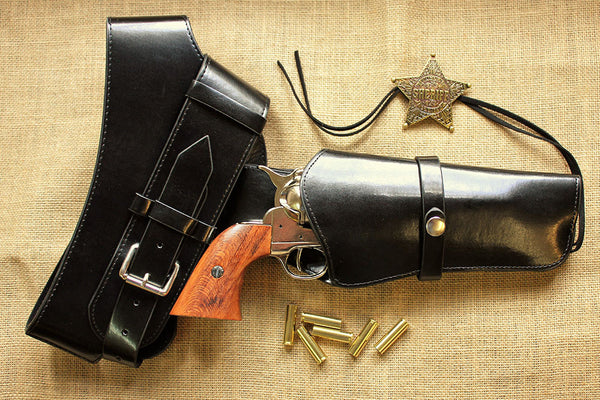 Chrome Colt Frontier with Free Western Quick Draw Holster