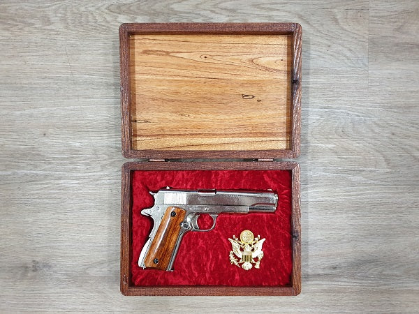 Colt .45 Chrome boxed