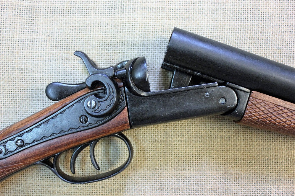 Double Barrel 12g Coach Gun