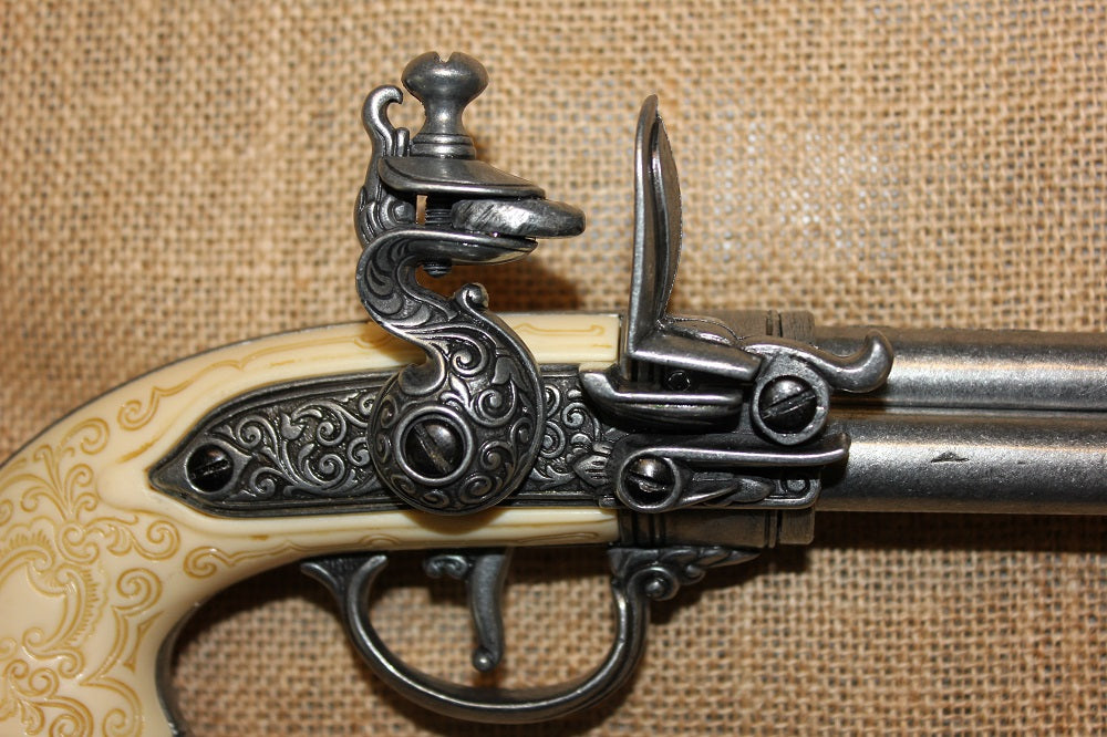 Italian Triple Barrel Flintlock
