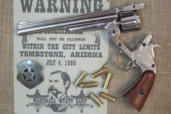 S & W Schofield .44 (chrome)