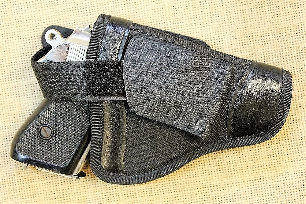 Deluxe Belt Holster (PPK Chrome)