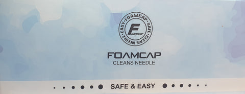 Foam Cap Needle Cleaner