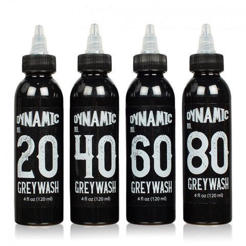 Dynamic Gray wash 4 bottles Set (4 oz)