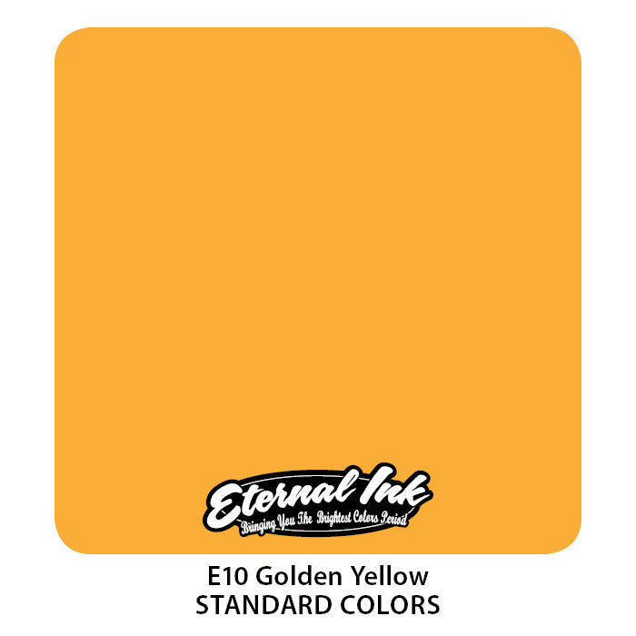 Eternal Tattoo Ink Golden Yellow, 1oz, -