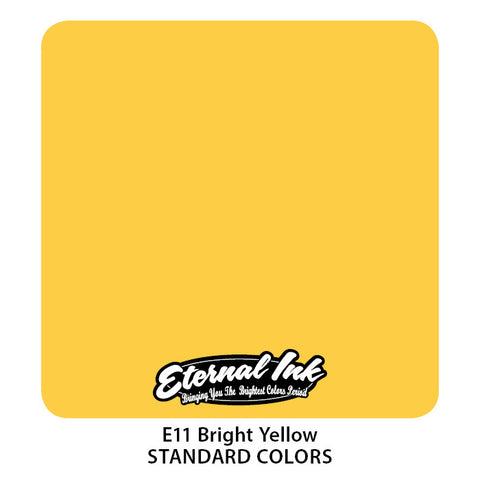 Eternal Tattoo Ink Bright Yellow, 2oz, -