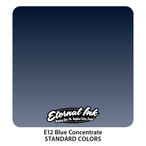 Eternal Tattoo Ink Blue Concentrate, 1oz, -