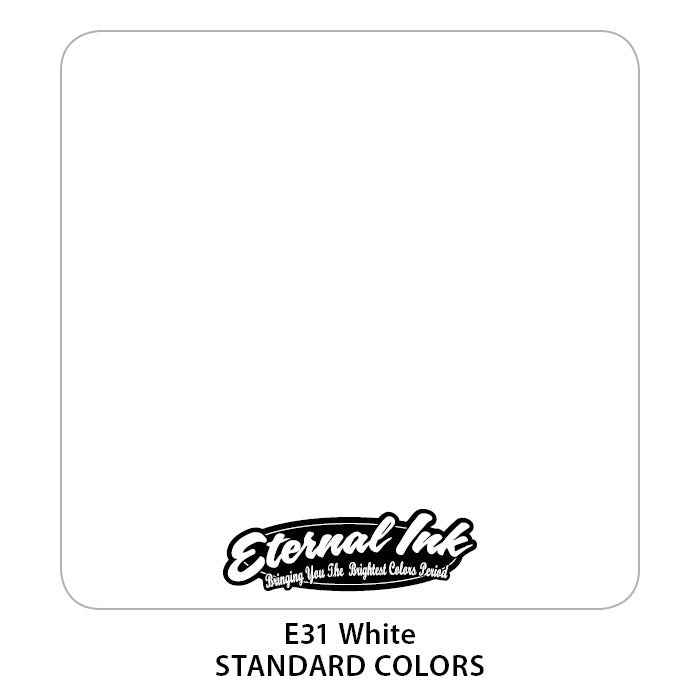 Eternal Tattoo Ink White, 1oz, -