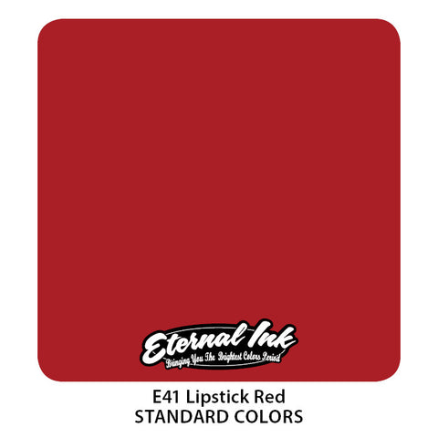 Eternal Tattoo Ink Lipstick Red, 2oz, -