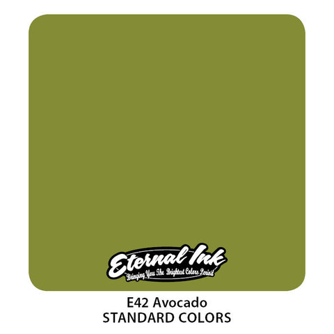 Eternal Tattoo Ink Avocado, 1oz, -