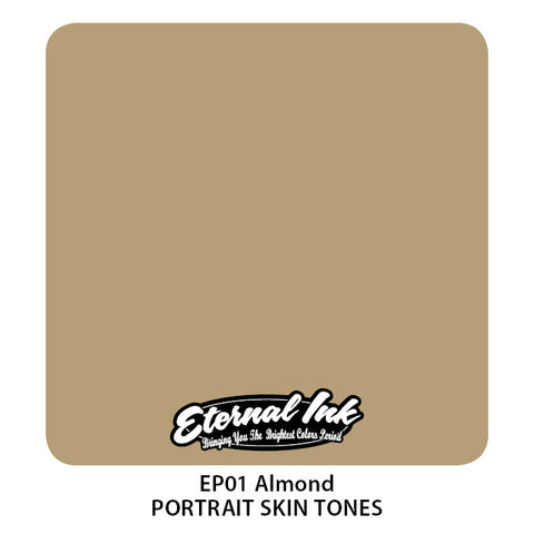 Eternal Tattoo Ink Almond, 1oz, -