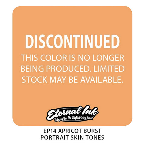 Eternal Tattoo Ink Apricot Burst, 1oz, -