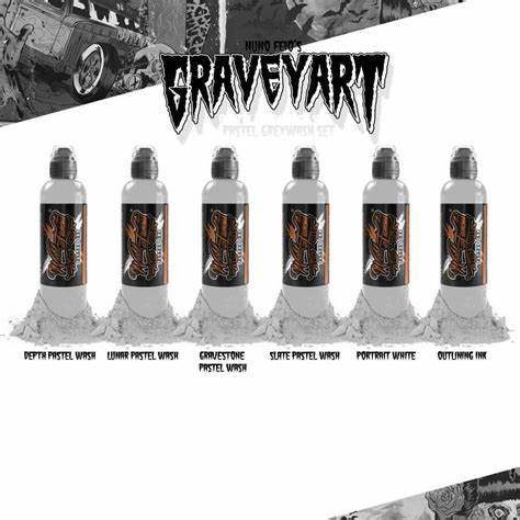 World Famous 6 Bottles Nuno Feio Graveyard set 1oz