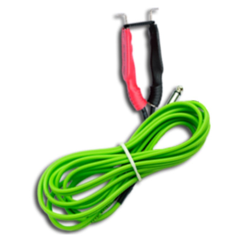 Bavarian Clip Cord Cable - Black/Blue/Red/Green