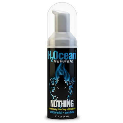 H2Ocean Nothing Pain Relieving Foam Soap with Lidocaine