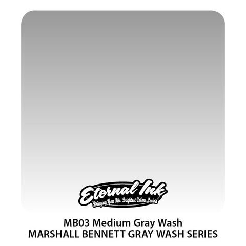 Eternal Tattoo Ink Medium Gray Wash 4oz
