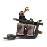 Compass Engraved Liner Coil Tattoo Machine