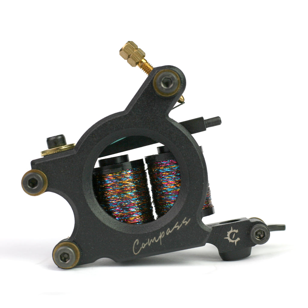 Compass Sparkle Liner Coil Tattoo Machine
