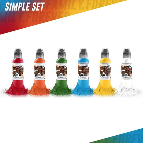 World Famous 6 Color Simple Set 1oz