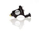 Bishop V6 Rotary Tattoo Machine - Polished Black Black, 3.5mm or 4.2mm Stroke