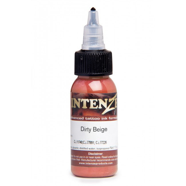 Intenze Mike DeMasi Portrait Series Single Colour Dirty Beige 1oz