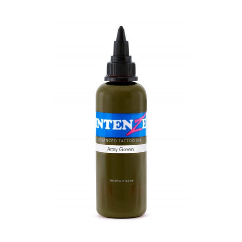 Intenze Army Green 1 oz