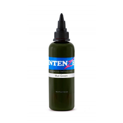 Intenze Mud Green, Mud Green, 1oz