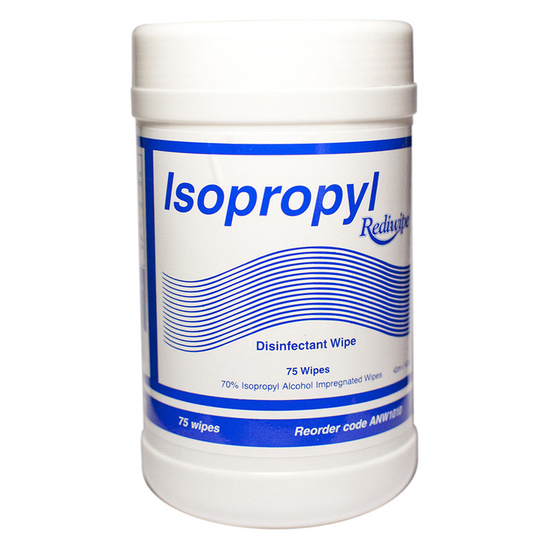Hospital Grade Isopropyl Disinfectant Wipes