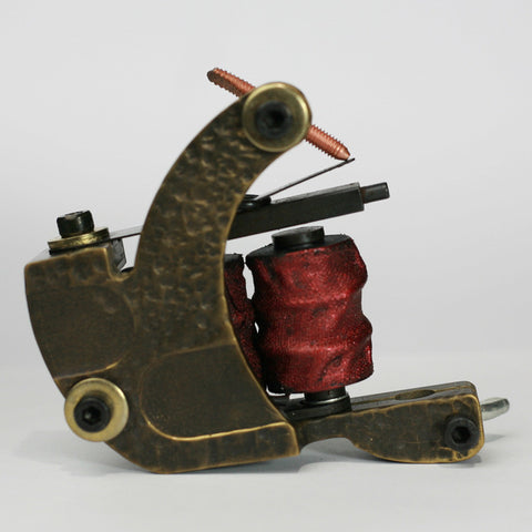 L-Series Brass Liner Coil Tattoo Machine