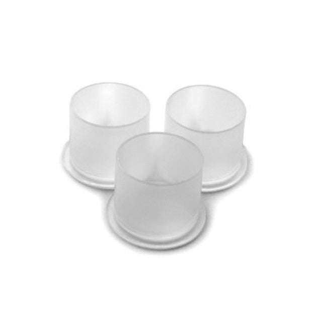 Premium Clear Ink Cups with Base