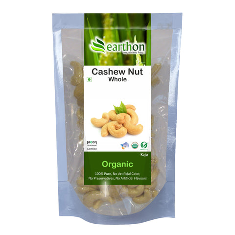 Organic Cashew Nuts Whole (Kaju)