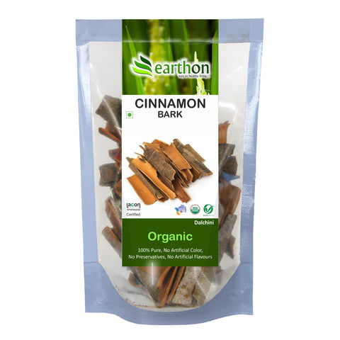 Organic Cinnamon Sticks (Dalchini) Bark