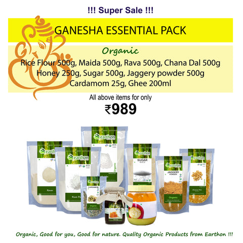 Ganesha Essential Kit - Combo of 9 Organic essential products