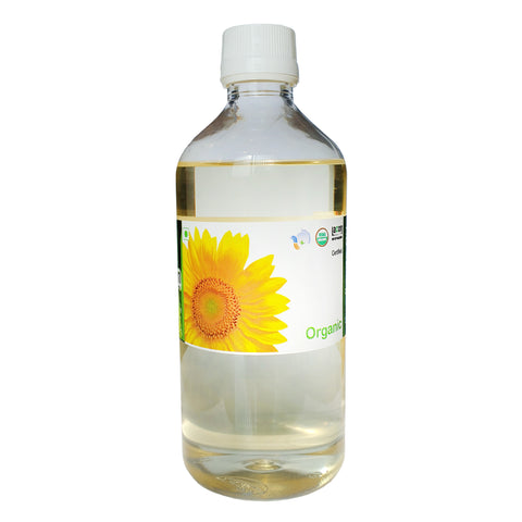 Organic Sunflower Oil - Cold Pressed