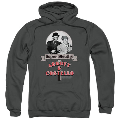 Abbott and Costello Super Sleuths Pullover Hoodie